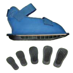 DM Systems GaitKeeper Cast Shoe,X-Small,Each,L3260