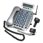 Sonic Alert Amplified Corded Telephone with Emergency Connect,Corded Telephone with Emergency Connect,Each,Ampli600