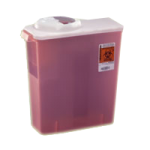 Covidien Kendall DailySafety Dialysis Sharps Disposal Container,3 Gallon,Each,8964