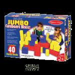 Melissa & Doug Jumbo Cardboard Blocks,Deluxe Jumbo, 40 Piece,Each,2784