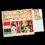 Melissa & Doug Construction Set in a Box,2.3″ x 12.3″ x 12.3″,Each,490
