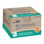 BD Swabs,Alchcol Swabs,100/Pack, 12Pk/Case,326895