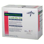 Medline Aloetouch Natural Powder-Free Latex Surgical Gloves,7,50Pair/Pk, 4Pk/Case,MSG2470