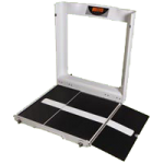 "Brandt Wheelchair Digital scale,39″L x 46.5″W x 42.25H"",Each,WCS100"