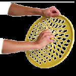 Aeromat Grip Twister,9.5″ Diameter, Medium, Green,Each,36402