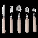 Comfort Grip Straight Utensils,Teaspoon,Each,557113