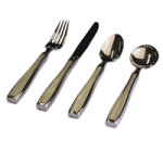 Stainless Steel Weighted Utensils,12oz Fork,Each,81590488