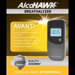 Q3 Innovations Alcohawk Avanti Breathalyzer,4.92″ x 2.2″ x .95″ (125 mm x 56 mm x 24 mm),Each,Q3I-7000