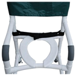 MJM International Safety Belt For Shower Chair,Safety Belts, Fits 26″W Chair,Each,BB-26