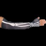 LympheDudes Bones Compression Arm Sleeve And Gauntlet,Each,BONES