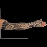 LympheDudes Fierce Beige Compression Arm Sleeve And Gauntlet,Each,Fierce Beige