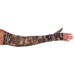 LympheDivas Military Camouflage Compression Arm Sleeve And Gauntlet,Each,MILITARY CAMOUFLAGE