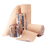 McKesson Medi-Pak Elastic Knit Bandages With Hook and Loop Closure,3″ x 5 yds,10/Pack, 5Pk/Case,16-1033-3