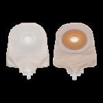 Hollister Premier One-Piece Extended Flat Pre-cut Beige Urostomy Pouch With Flextend Skin Barrier,1-1/4″ (32mm),10/Pack,8448