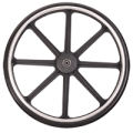 15122015490Medline_16-18_Inches_Quick_Release_Rear_Wheel_Assembly