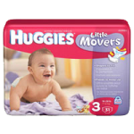 Huggies Little Movers Diapers,Size 5, Jumbo,21/Pack, 4/Case,40798
