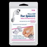Pedifix Visco-Gel Toe Spacer,Large,2/Pack,P28-L