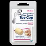 Pedifix Podiatrists Choice Nylon-Covered Toe Cap,Medium,Each,P34-M