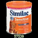 Abbott Similac Sensitive Formula with Iron,EarlyShield Powder, 12.6oz (357gm), Can,6/Case,57539