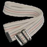 Skil-Care Pinstripe White Gait Belt,60″ L, Standard Webbing,Each,252010