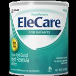 Abbott EleCare Amino Acid-Based Formula with Iron,14.1oz (400gm), Unflavoured, Powder Can,6/Case,55251
