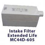 Devilbiss Extended Life Intake Replacement Filter For Five Liter Compact Oxygen Concentrator,Intake Filter,Each,MC44D-605