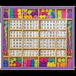 Melissa & Doug Wooden Stringing Beads,0.75″ x 9.5″ x 11″,Each,3774