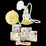 Medela Swing Pump Solution Set,Yellow,Each,67050BN