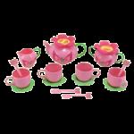 Melissa & Doug Bella Butterfly Pretend Play Tea Set,45.5″ x 12″ x 4.5″,Each,6181