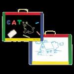 Melissa & Doug Magnetic Chalkboard Or Dry-Erase Board,0.6″ x 11.9″ x 15.8″ (Assembled),Each,145