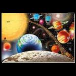 Melissa & Doug Solar System Floor Puzzle,24″L x 36″W (Assembled),Each,413