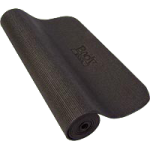 BodySport Yoga And Fitness Mat,72″ x 24″ x 1/4″, Black,Each,YM14BLK