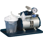 Medline Vac-Assist Aspirator,Accommodates 800cc Canister,Each,HCS7000