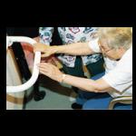 The Extend a Hand Grab Bar,24″L (60cm), White Finish,Each,920327