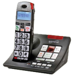 Serene Innovations CL60A Cordless Amplified Phone with Answering Machine,Amplified Phone with Answering Machine,Each,CL-60A