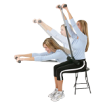 Fitter Core Stretch Stretching Device,Adjustable Stretching Pole,Each,CSTR