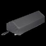 Core Positioning Peak Style Bolster,Black, 10″ x 24″,Each,PRO-901-BK