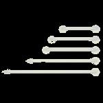 Graham-Field Lumex Versaguard Coated Grab Bars,32″,3/Case,40333A