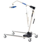 Invacare Reliant 450 Hydraulic Manual Patient Lift With Low Base,With Low Base,Each,RHL450-1
