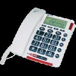 Geemarc Talking Caller ID Amplified Telephone,Talking Telephone,Each,AMPLIVOICE50