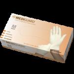 Medline MediGuard Powdered Latex Exam Gloves,Large,100/Pack, 5Pk/Case,MG1206H