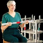 Rehab Weight Bars,5lb, Dark Green,Each,540008