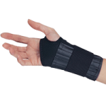 Core Elastic Wrist Support,Small, Right Hand,Each,WST-6850-R-SML