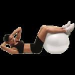 Valeo Body Ball,55cm, White,Each,VA4482WH