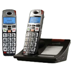 Serene Innovations CL60 DECT 6.0 Amplified Cordless Phone with Expansion Handset,Amplified Phone with Expansion Handset,Each,HC-CL60COMBO