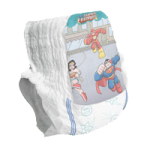Medline Training Pants Disposable Diapers Pull Up Style Underwear,X-Large, Over 38lb,13 Each/Pack,MSC29813Z