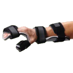 Rolyan Resting Hand and Wrist Orthosis,Left, Medium,Each,81569409