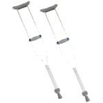 Invacare Quick Adjust Crutches,Tall Adult,8Pair/Case,8120-T