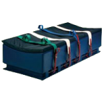Humane Restraint Duramax Bed with Side Bars and Curved Top,16″H x 30″W x 75″L,Each,GDB-100