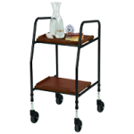 Mabis DMI Food Trolley,17″ x 18.5″ x 35.5″,Each,553-4058-0200